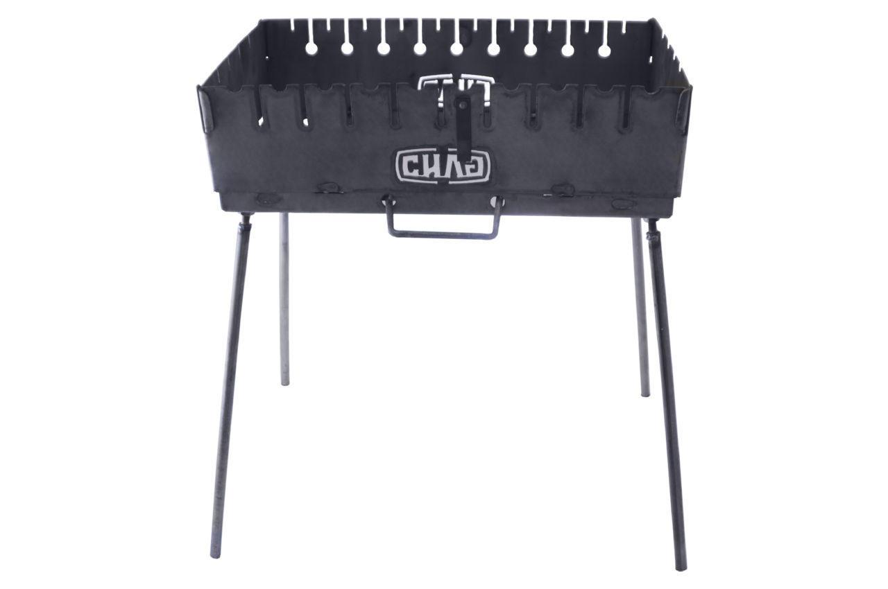 Мангал-чемодан Сила - 1,5 мм x 8 шп