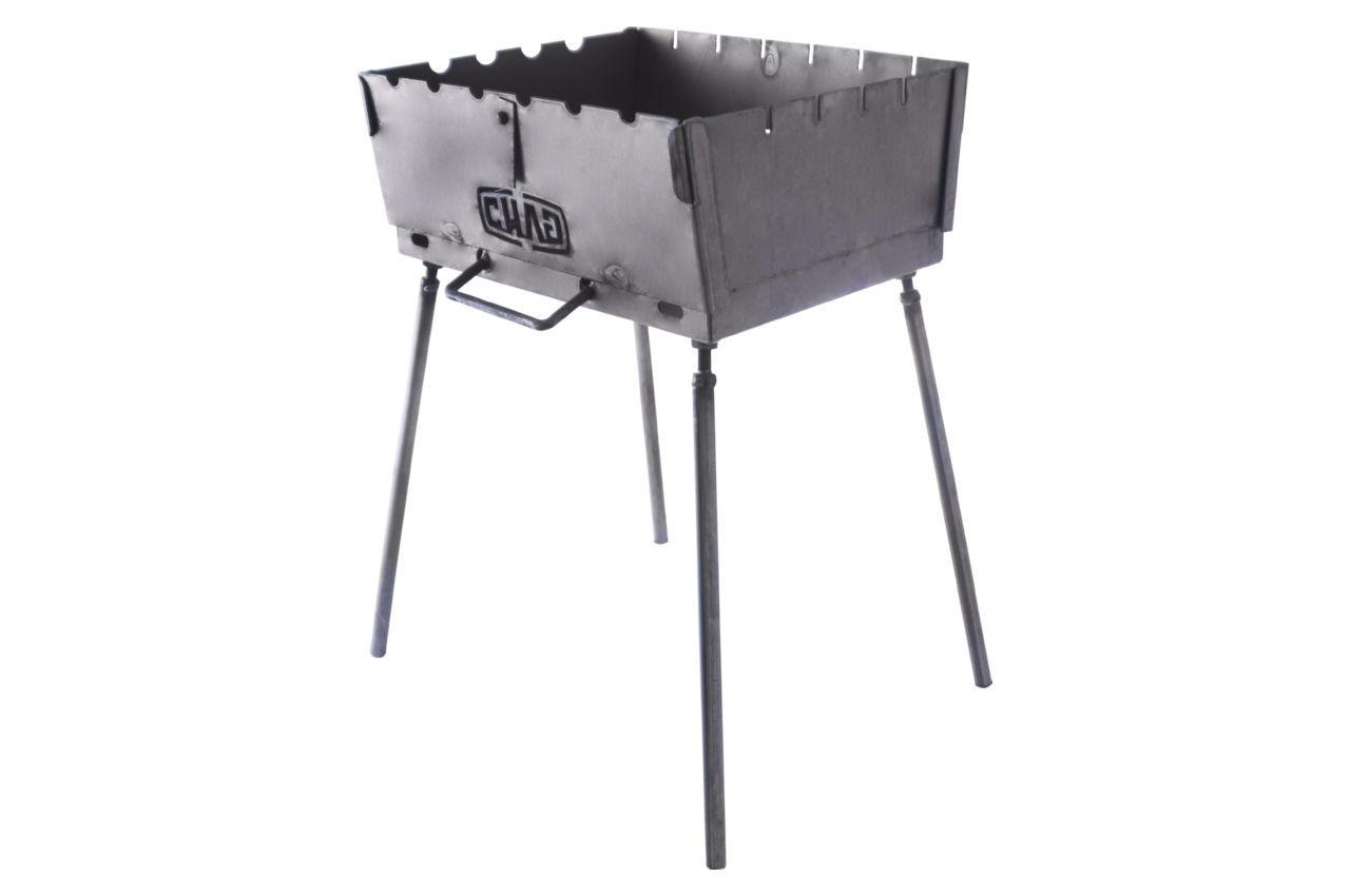 Мангал-чемодан Сила - 2 мм x 6 шп