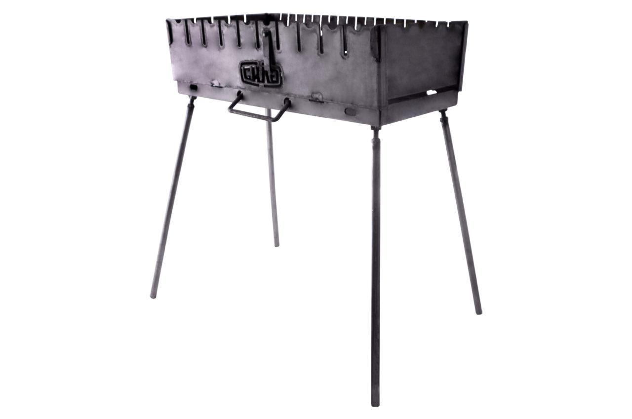 Мангал-чемодан Сила - 2 мм x 8 шп