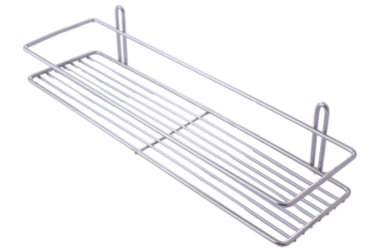 Полка для ванной FZB - 110 x 400 x 50 мм x 1 прямая нержавейка