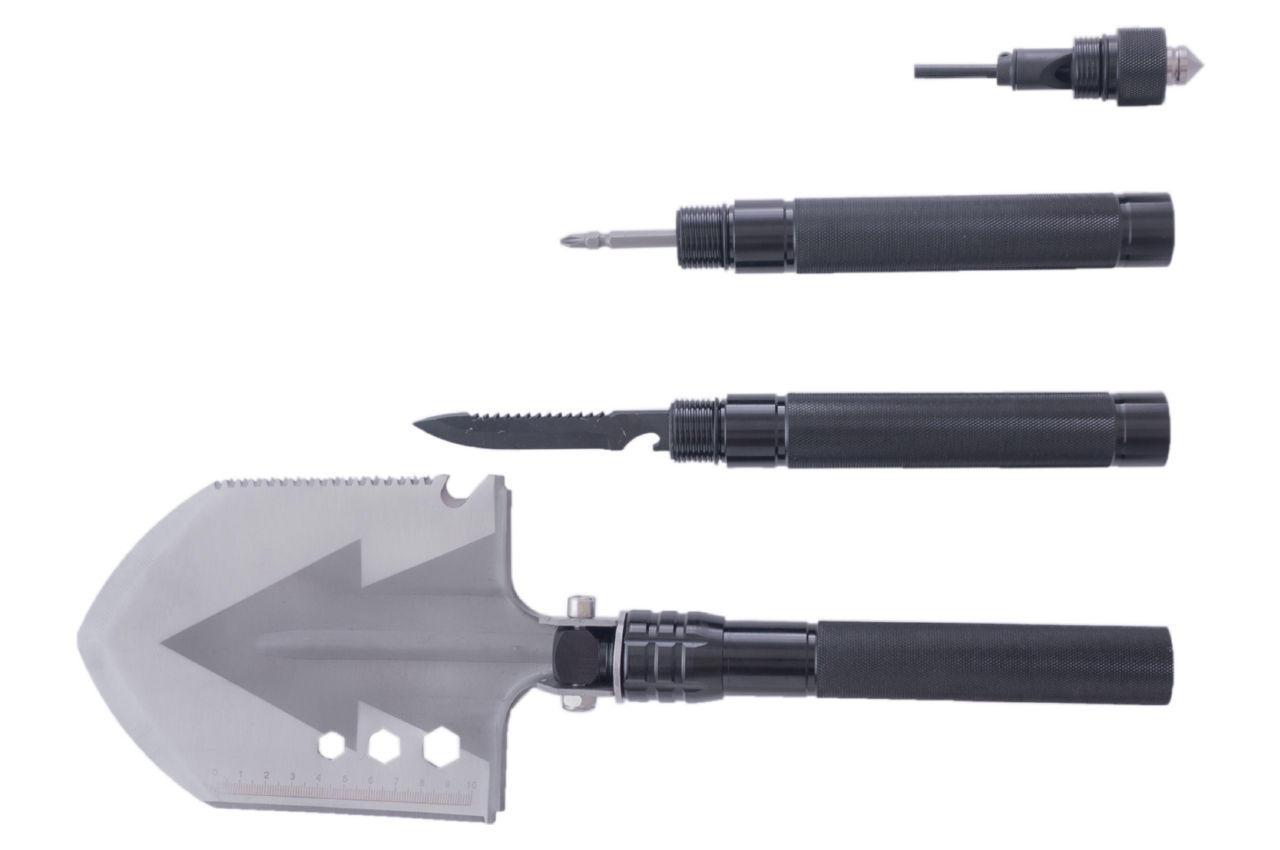 Лопата многофункциональная Рамболд - 7-в-1 черная