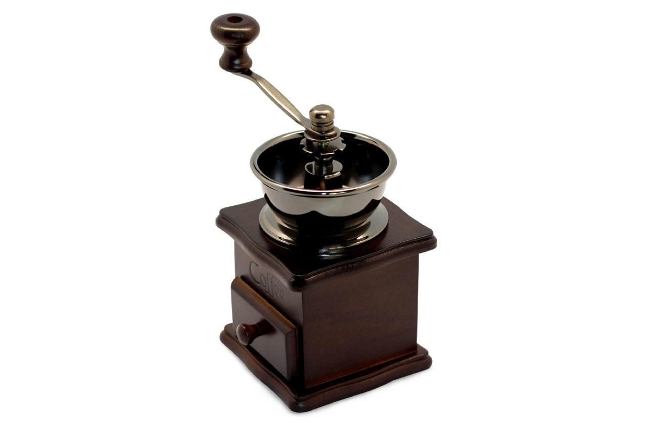 Кофемолка ручная Kamille - 205 мм деревянная