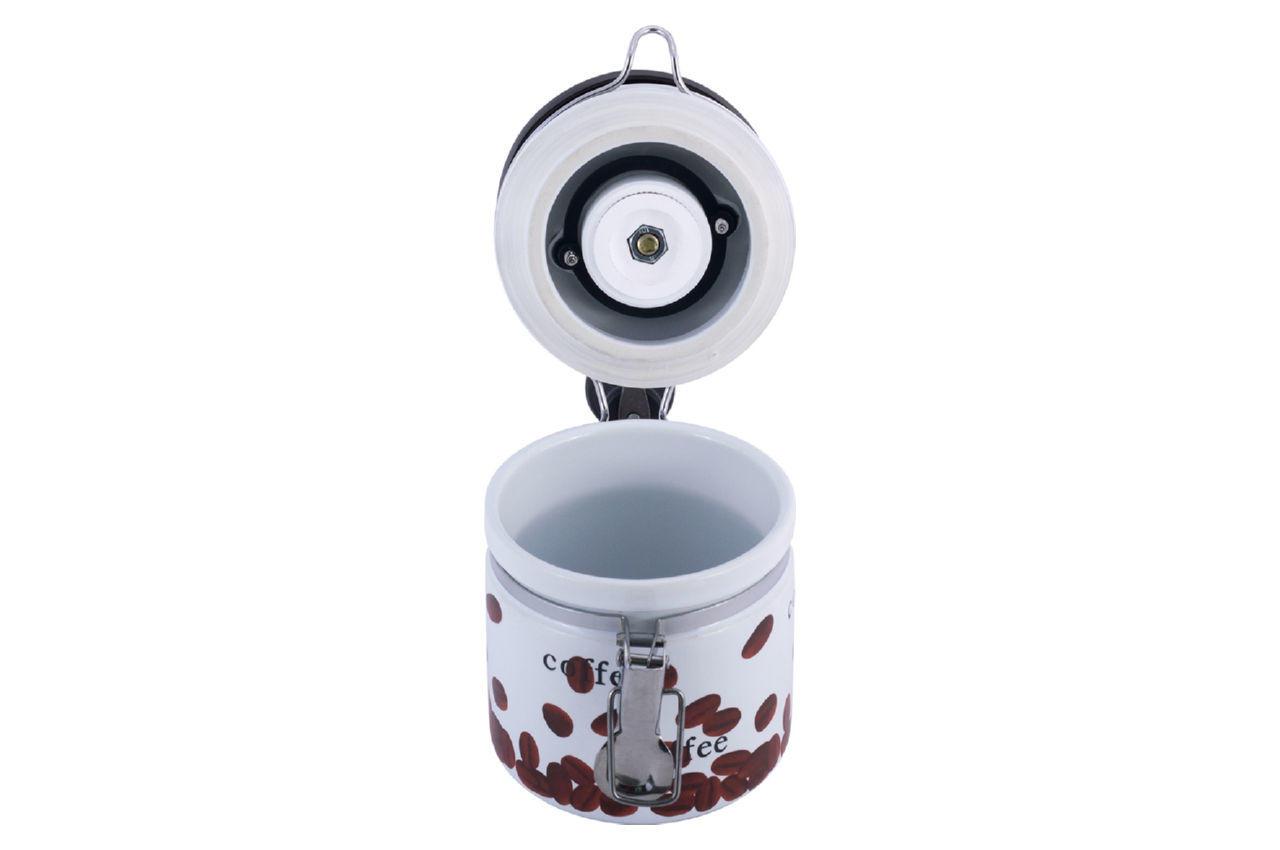 Кофемолка ручная Kamille - 205 мм керамическая