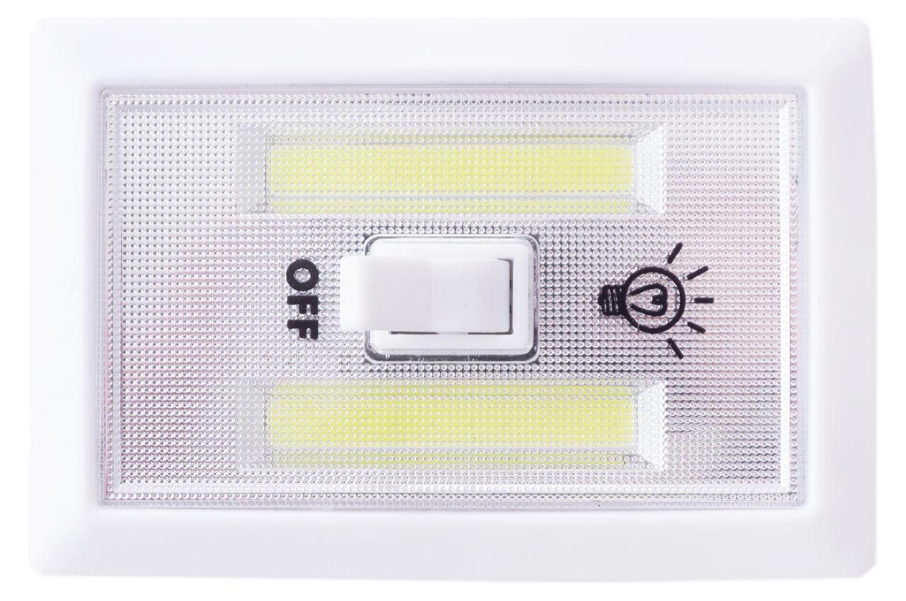 Светильник выключатель светодиодный Wimpex - 115 x 76 мм