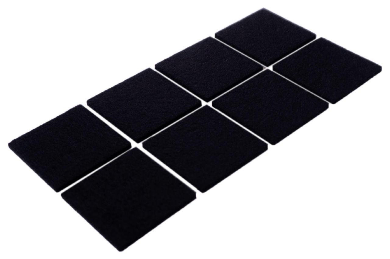 Подкладки войлочные FZB - 40 x 40 мм квадратные (8 шт.)
