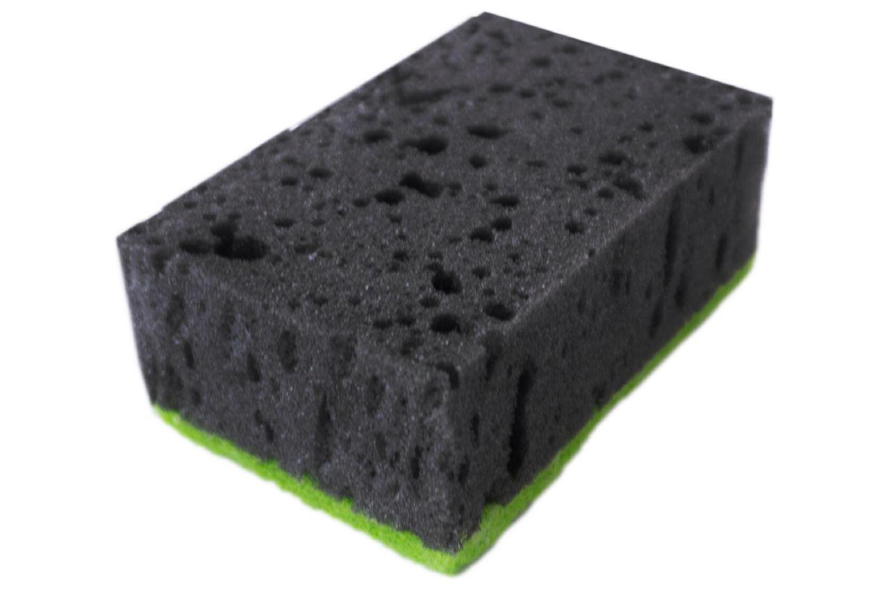 Губка кухонная Блеск - 90 x 58 x 35 мм черная (5 шт.)