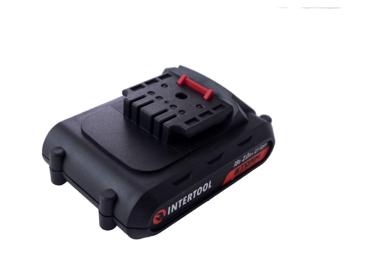 Аккумулятор для шуруповерта Intertool - 18В x 2,0Ач Storm (WT-0313/0314/0317)
