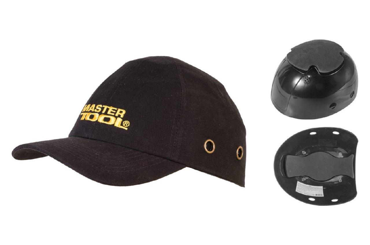 Каскетка защитная Mastertool - черная