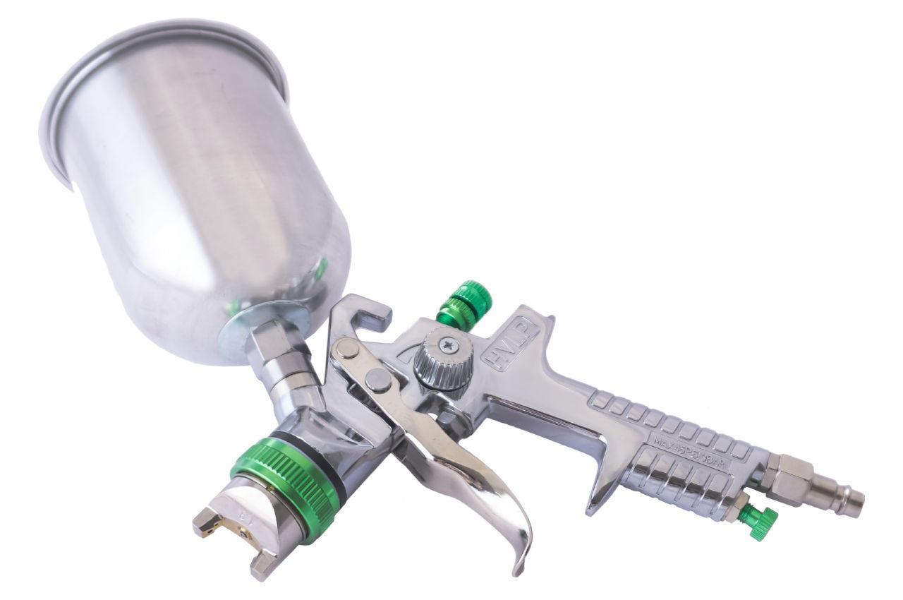 Краскопульт пневматический HVLP Mastertool - 600 мл x 1,3 мм ВБ