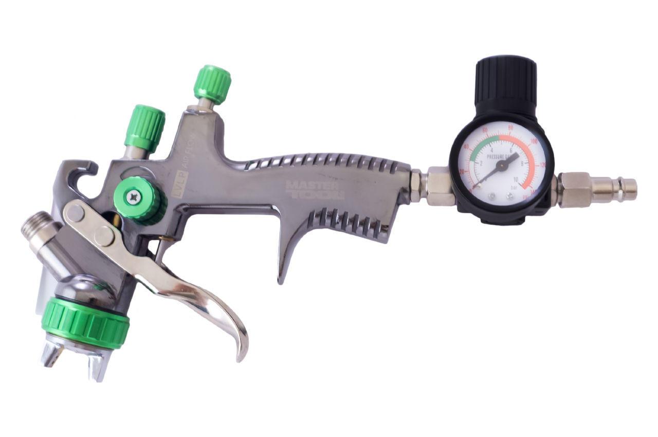 Краскопульт пневматический LVLP Mastertool - 600 мл x 1,3 мм ВБ