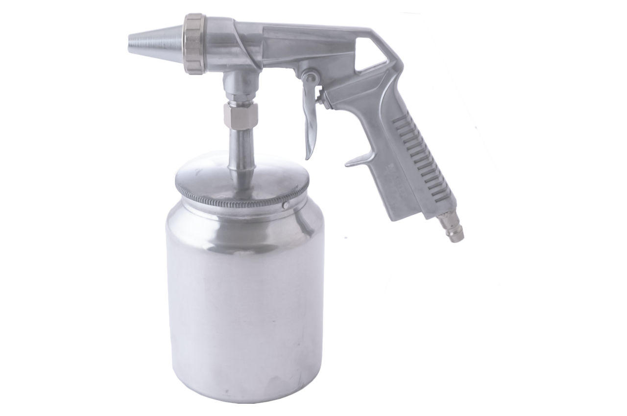 Пневмопистолет пескоструйный Mastertool - 1000 мл x 6 мм конус