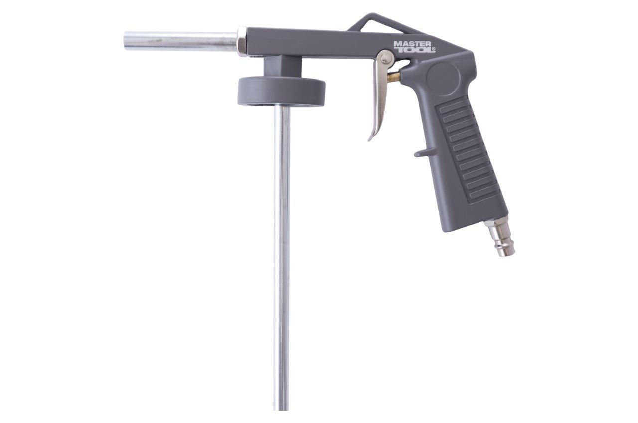 Пневмопистолет для гравитекса Mastertool - 240 мм трубка