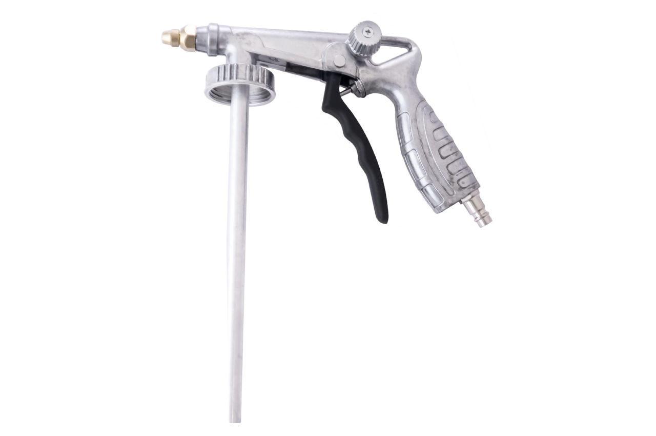 Пневмопистолет для гравитекса Mastertool - 240 мм трубка x 300 мм шланг