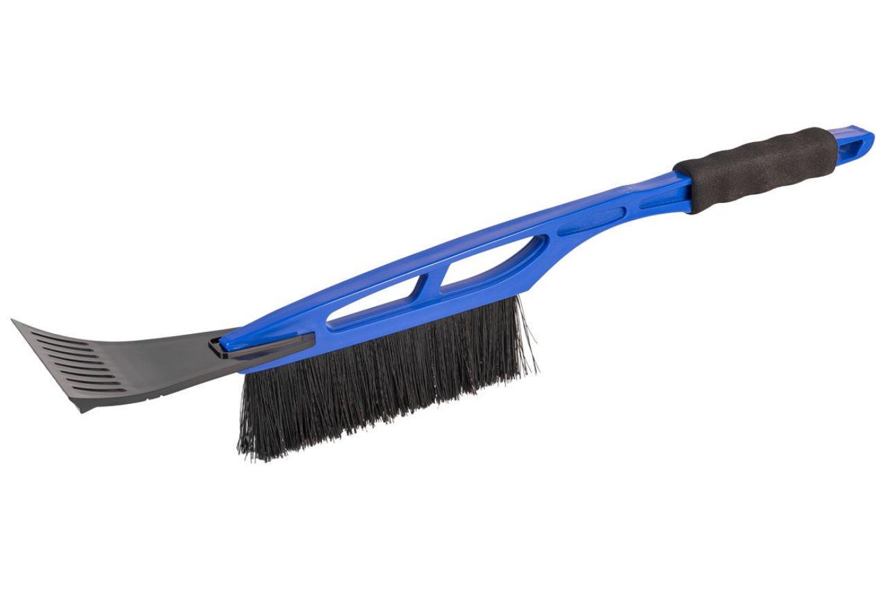 Щетка со скребком Mastertool - 520 мм синяя