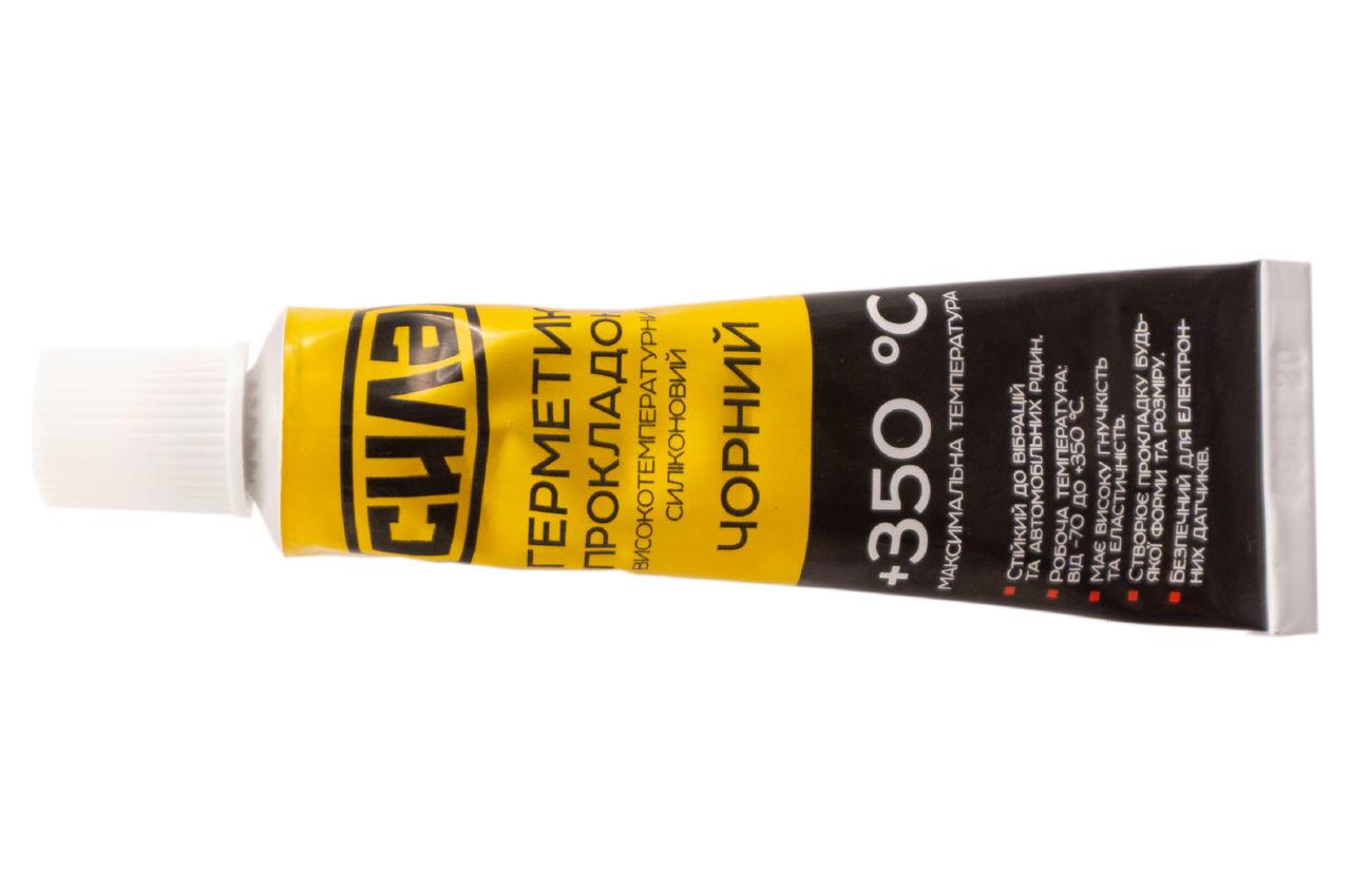 Герметик высокотемпературный Сила - 25г черный