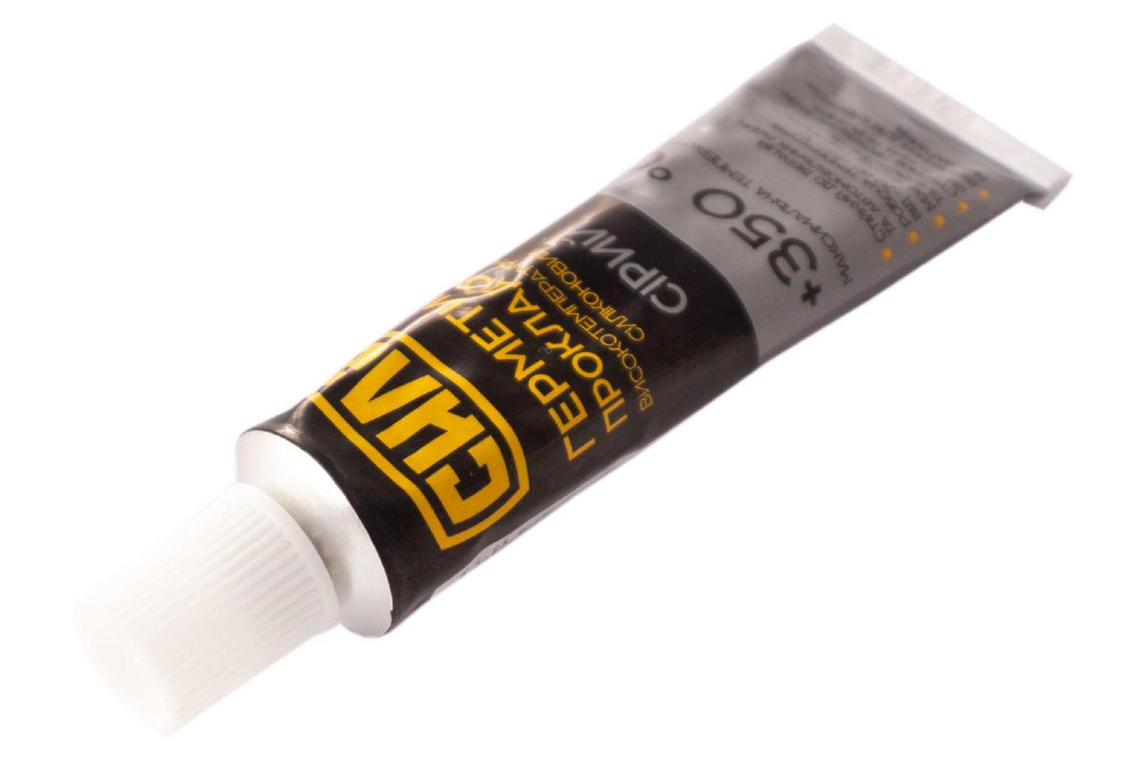Герметик высокотемпературный Сила - 25г серый