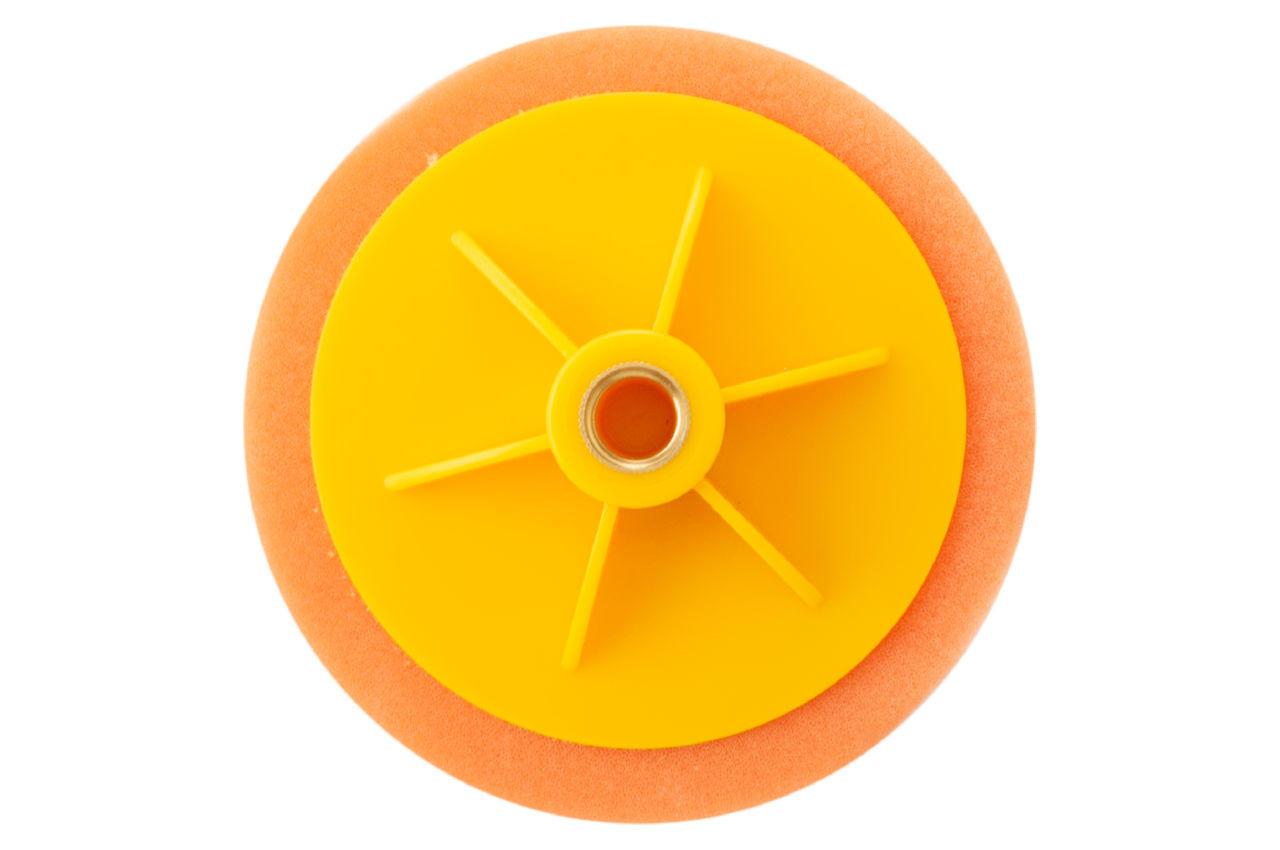 Круг полировальный поролоновый Рамболд - 125 мм x М14 оранжевый