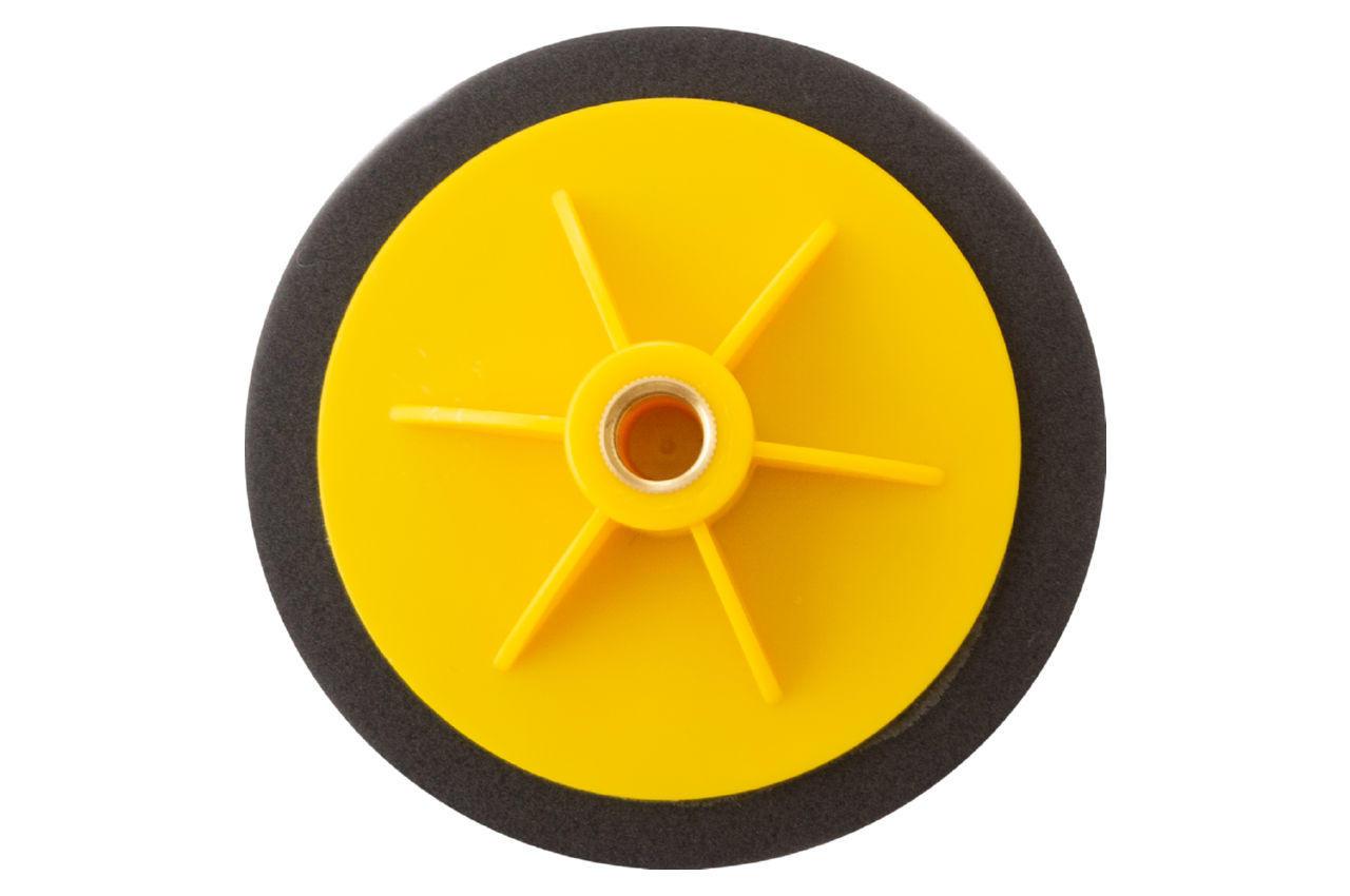 Круг полировальный поролоновый Рамболд - 125 мм x М14 черный