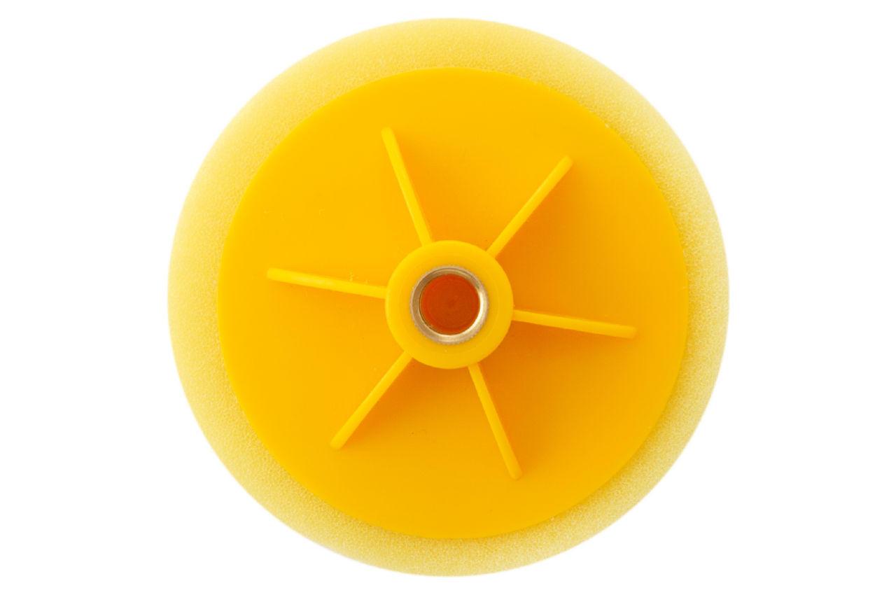 Круг полировальный поролоновый Рамболд - 125 мм x М14 желтый