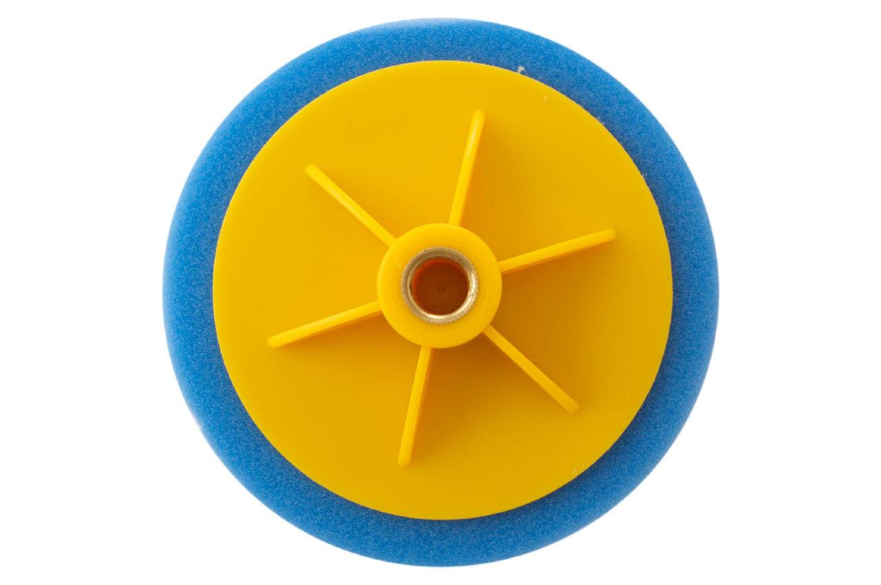 Круг полировальный поролоновый Рамболд - 125 мм x М14 синий