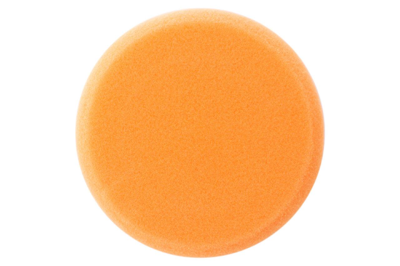 Круг полировальный поролоновый Рамболд - 125 мм x М14 оранжевый мягкий