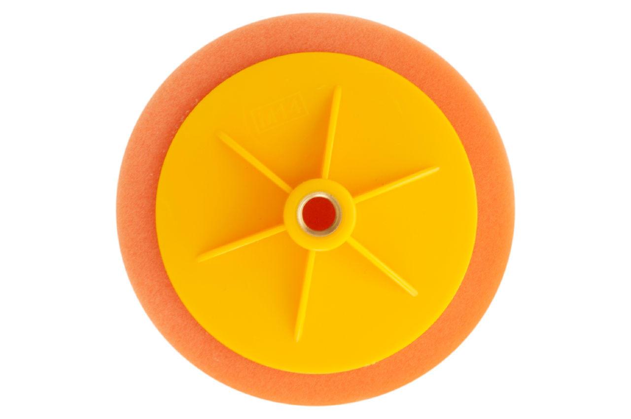 Круг полировальный поролоновый Рамболд - 150 мм x М14 оранжевый