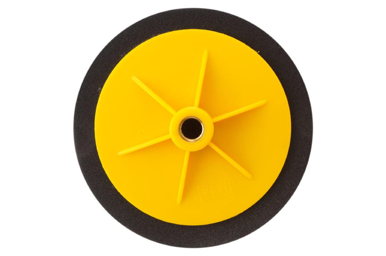 Круг полировальный поролоновый Рамболд - 150 мм x М14 черный
