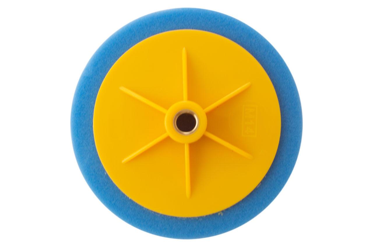 Круг полировальный поролоновый Рамболд - 150 мм x М14 синий