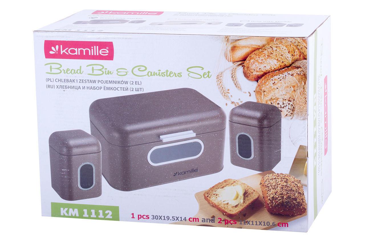 Хлебница Kamille - 300 × 185 × 155 мм + 2 емкости
