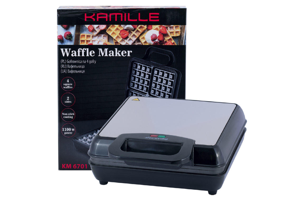Вафельница Kamille KM-6701