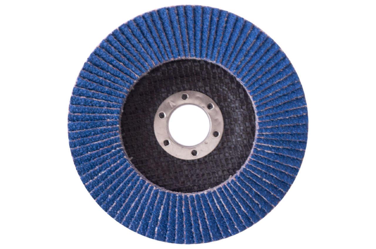 Круг лепестковый торцевой Рамболд - 125мм x Р80 цирконий