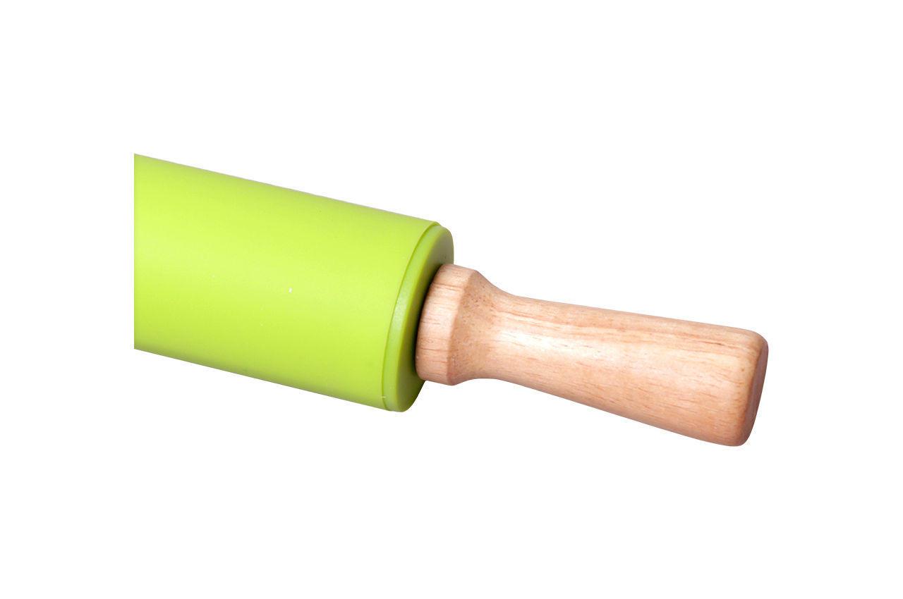 Скалка силиконовая Kamille - 383 мм
