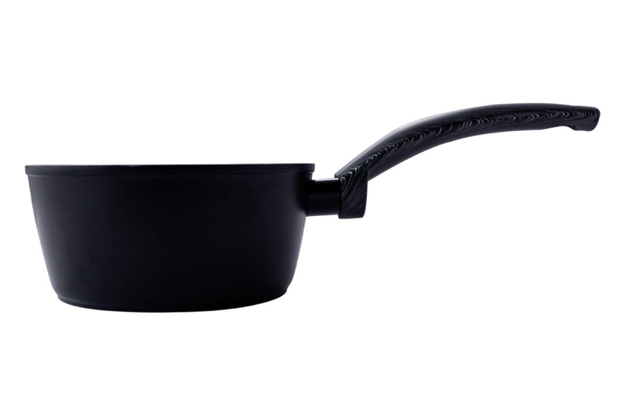 Ковш антипригарный Kamille - 160 мм x 1,2 л Black Marble
