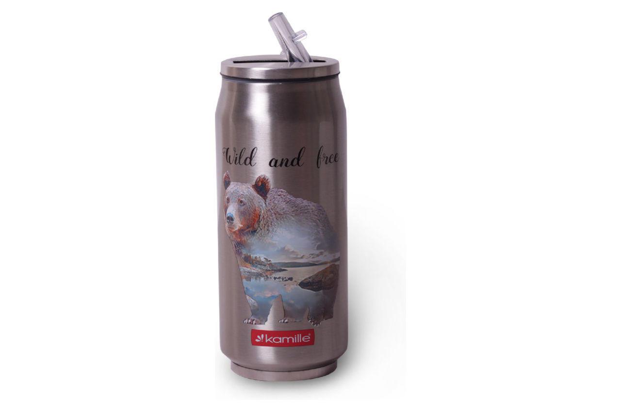 Термобутылка Kamille - 500 мл Wild And Free