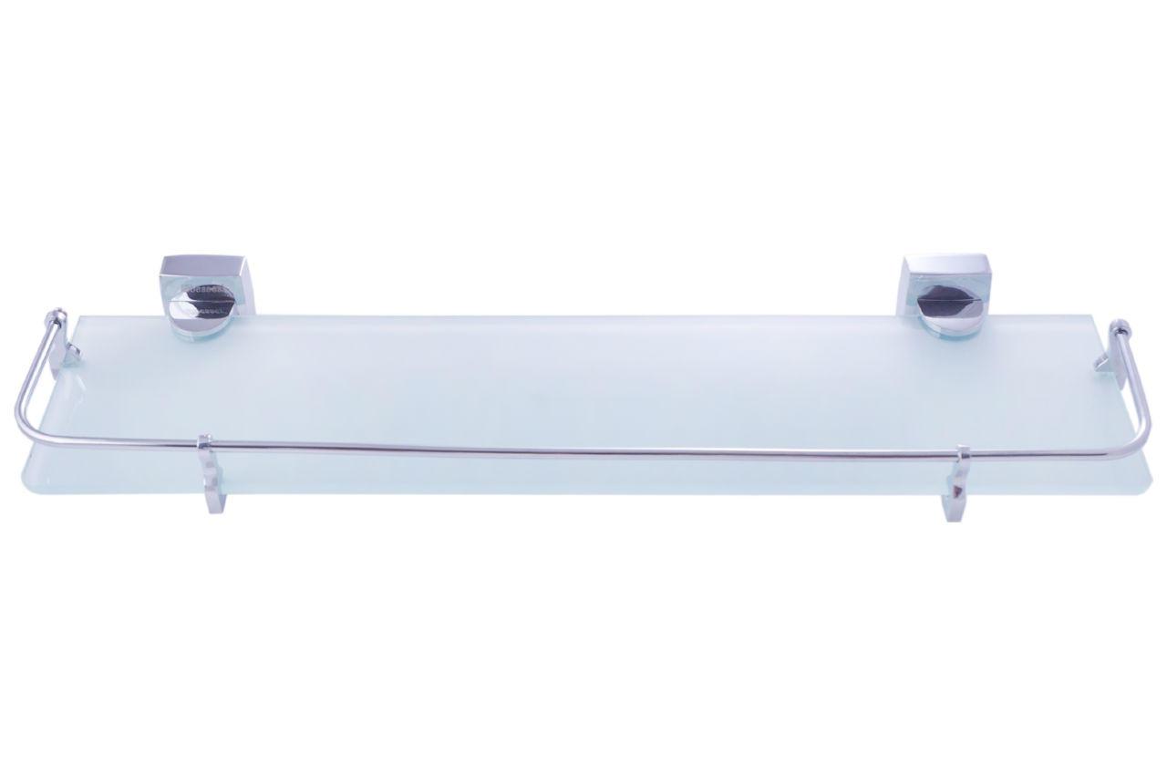 Полка для ванной Besser - 510 x 150 мм прямоугольная стеклянная