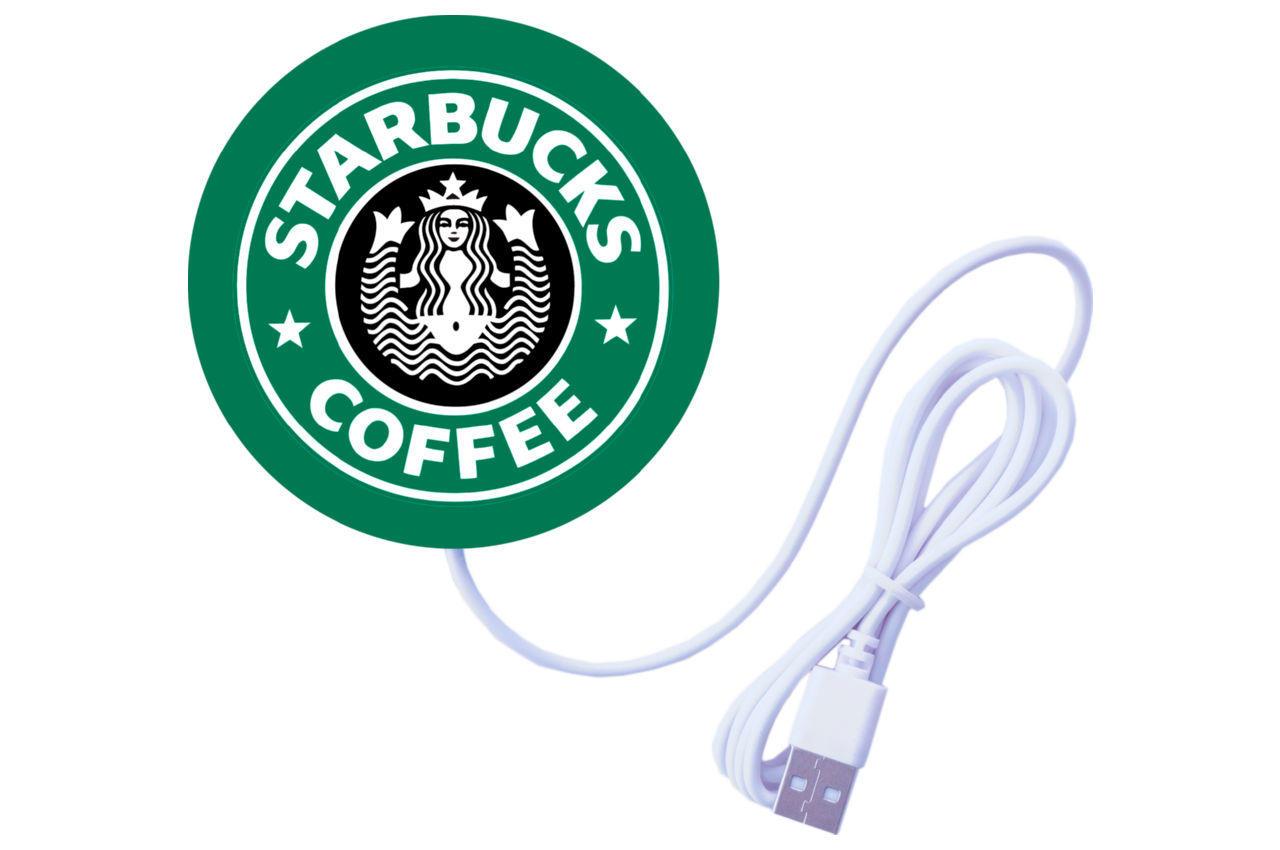 Подставка под чашку с подогревом Elite - 90 мм USB