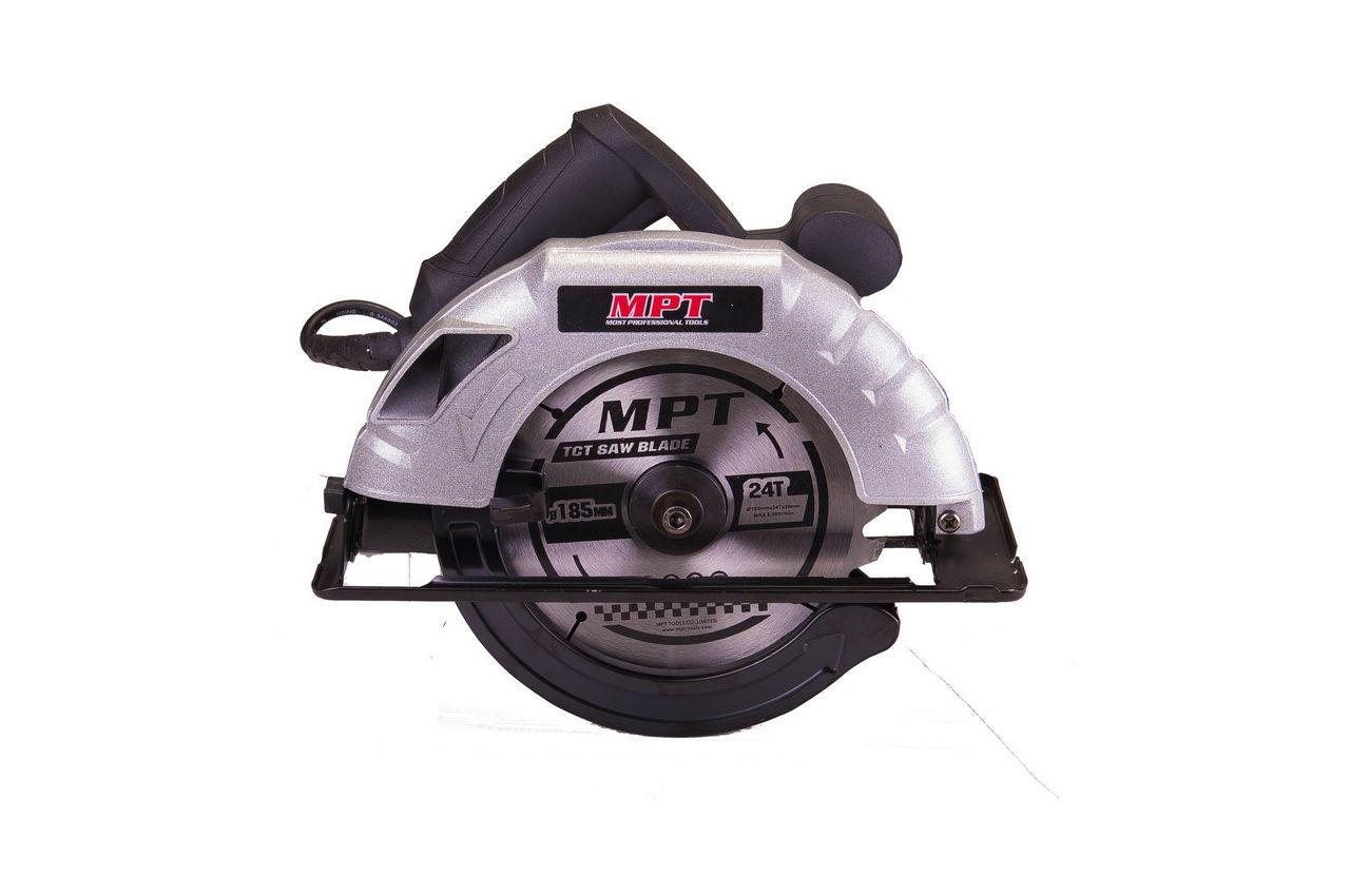 Пила дисковая MPT - 1200Вт x 185 мм