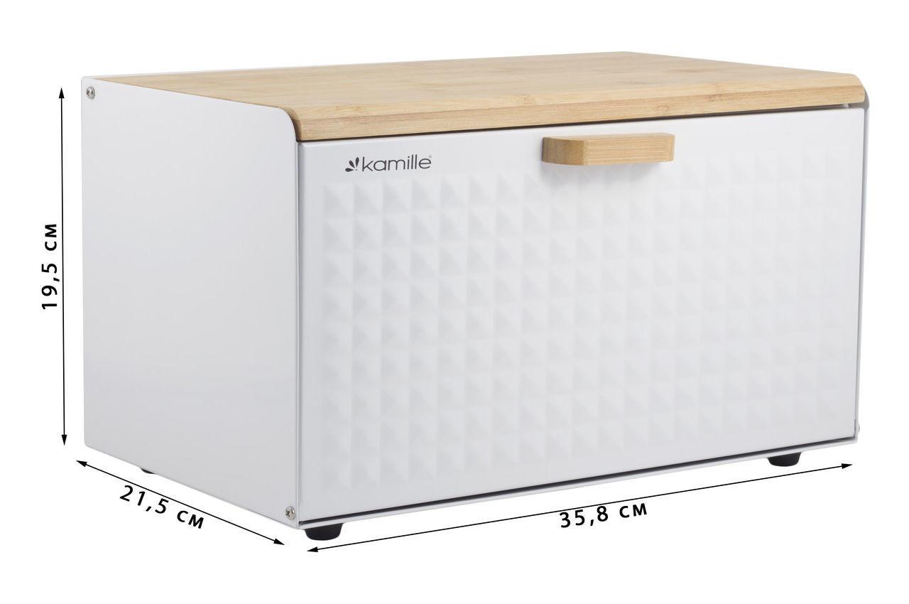 Хлебница Kamille - 355 × 215 × 195 мм 1119