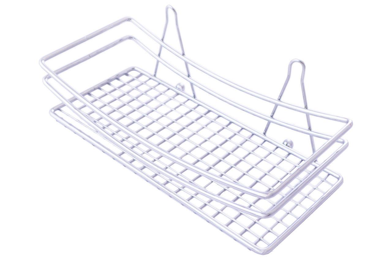 Полка для ванной Besser - 250 x 110 x 95 мм прямая одинарная 0502